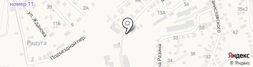 Рост-мебель на карте Аксая