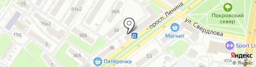 Фотолаборатория призрака на карте Ярославля
