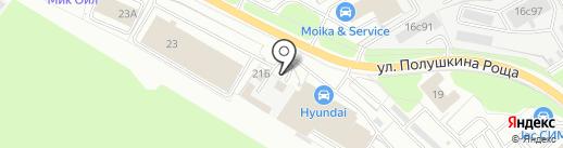 Мастерская по ремонту автостекол на карте Ярославля