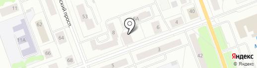 Стоматологический кабинет Корякина Н.Н. на карте Северодвинска