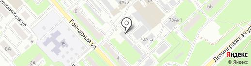 LEDec.ru на карте Вологды