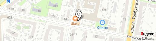 Бинбанк, ПАО на карте Ярославля