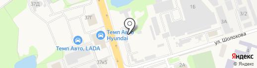 Автомагазин на карте Аксая
