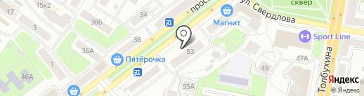 Laguna на карте Ярославля
