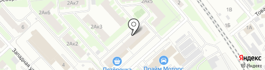 Содружество на карте Вологды