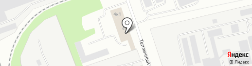 АВТО БРАВО на карте Северодвинска