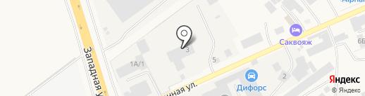 Кварта на карте Аксая