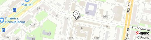 Мир цветов на карте Ярославля