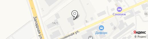 Гараж Сервис на карте Аксая