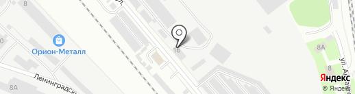 Феникс на карте Вологды