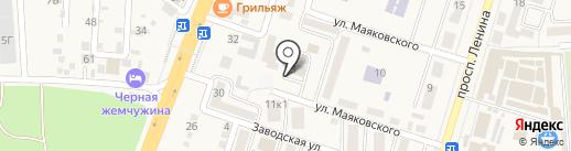 Благоустройство и ЖКХ, МКУ на карте Аксая