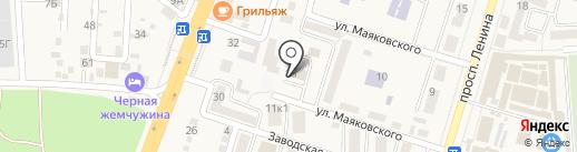 Управление коммунального и дорожного хозяйства Администрации Аксайского района на карте Аксая