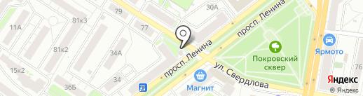 Фермерская лавка на карте Ярославля
