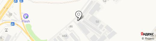 Трактехник на карте Аксая