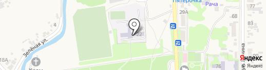 Ленинская средняя общеобразовательная школа на карте Ленины