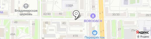 Шаг вперед на карте Ярославля