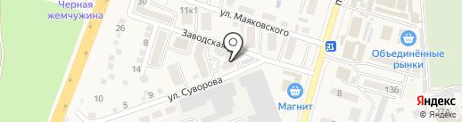 Printaks на карте Аксая
