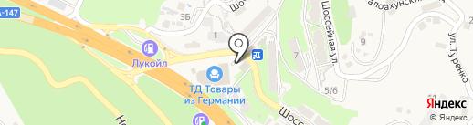 Боярская станица на карте Сочи