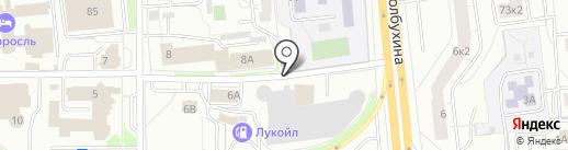Автокомплекс на карте Ярославля