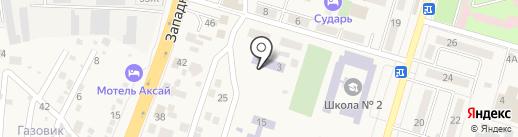 Детский сад №11, Красная шапочка на карте Аксая