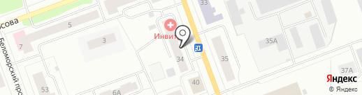 Росгосстрах-жизнь, ПАО на карте Северодвинска