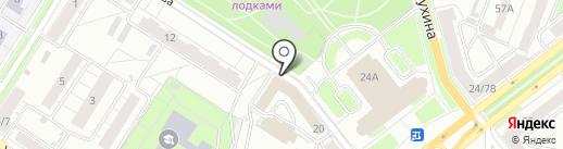 Новопроект на карте Ярославля
