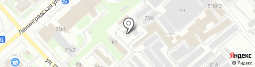 СоюзАвто на карте Вологды