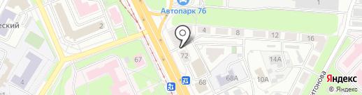 Комиссионный магазин бытовой техники на карте Ярославля