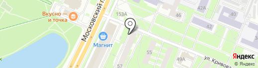 Салат на карте Ярославля