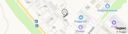 Аромат Донского Меда-Юг на карте Аксая