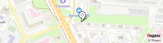 Угона нет на карте Ярославля