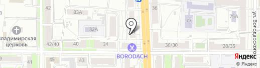 Магазин антиквариата на карте Ярославля