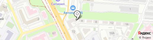 Диджит на карте Ярославля