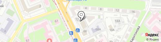 Кабинет косметологии на карте Ярославля