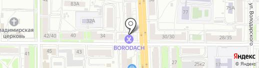 Магазин упаковочных материалов на карте Ярославля
