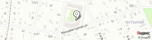 Лавинье, ГК на карте Ярославля