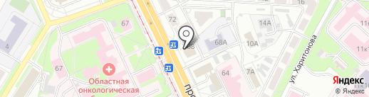 RED на карте Ярославля