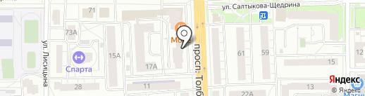 Строй Маркет на карте Ярославля