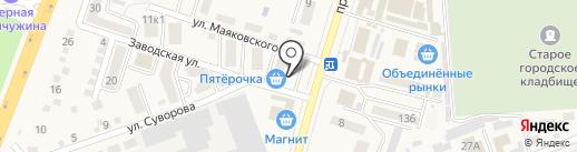 Банкомат, Сбербанк, ПАО на карте Аксая