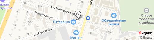 ОФИСКЛАСС на карте Аксая
