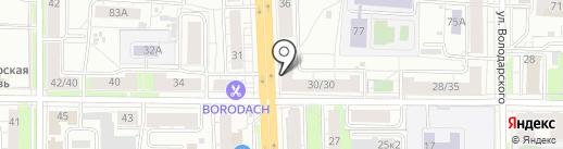 Автокруиз на карте Ярославля