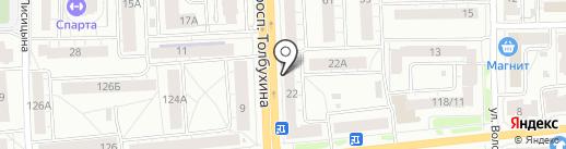 ТИАНА на карте Ярославля