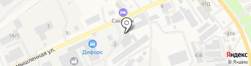 Автомобилист-3 на карте Аксая