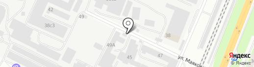 Втормет на карте Вологды