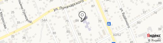 Детский сад №6, Теремок на карте Аксая