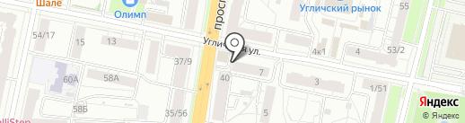 ПремьерСтрой на карте Ярославля