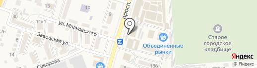 Союз ломбардов на карте Аксая