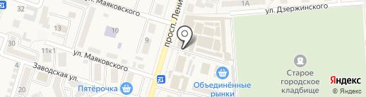 Русская печка на карте Аксая