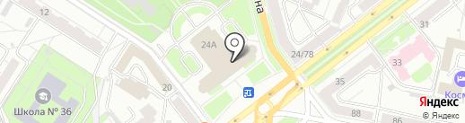 Aqualight на карте Ярославля