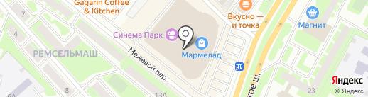 1С интерес на карте Вологды